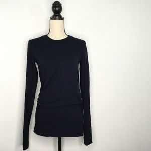 Athleta Activewear Top Long Sleeve Blue Size L